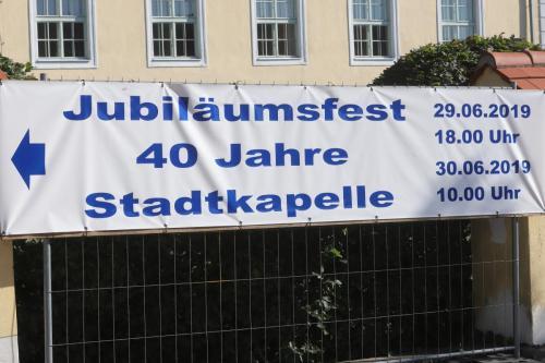 Jubiläumsfest 40 Jahre Stadtkapelle Pinkafeld, 29. u. 30. Juni 2019